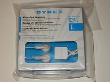 Dynex Ear Bud Headphones for Apple iPod Shuffle NEW