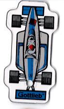 MARIO ANDRETTI Promo Pinball Plastic BLUE RACE CAR Fob