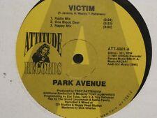 ++PARK AVENUE victim (6 versions) MAXI HOUSE 1991 ATTITUDE RECORDS VG++