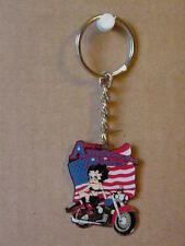 BETTY BOOP KEY CHAIN LOTS 2 PIECES - AMERICAN RIDER DESIGN