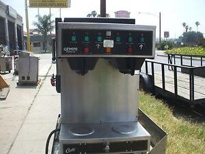 CURTIS, GEMINI SYSTEM 312, AUTO COFFEE MAKER, 220 V, 1 PH, 900 ITEMS ON E BAY