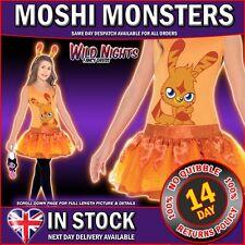 FANCY DRESS COSTUME # GIRLS MOSHI MONSTERS KATSUMA MED AGE 7-8-9