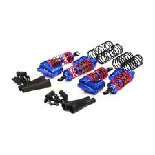 Integy XLS Piggyback Blue Shock Set Traxxas 1/10 Slash 4x4 INTT8537BL INTC3941