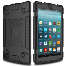 For Amazon Kindle Fire HD 8 7 2017 Tablet Case Hybrid Rugged Silicone Cover Skin