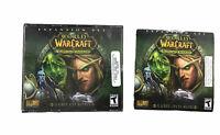 World of Warcraft: The Burning Crusade (PC, 2007) Expansion Set 4 Game CD-ROMS