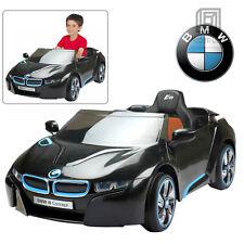 Licensed BMW i8 Kids Ride On Car 12V Battery Black