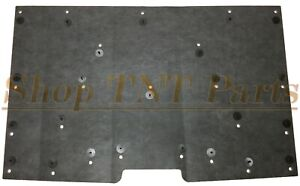 """1981-1987 Chevy Truck Hood Insulation Pad 1/2"""" With Clips C10 K10 C20 K20 Silver"""
