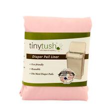 Cloth diaper pail liner /extra large reusable bag- Color PrettyPink