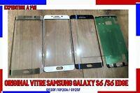 ORIGINAL VITRE ÉCRAN TACTILE Samsung Galaxy S6 G920 et S6 edge g925F+STICKER