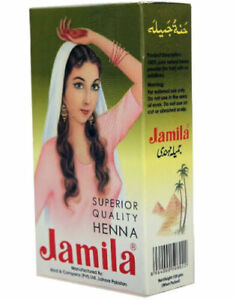10 Pack! 100gm Jamila Pure Henna Powder Mehandi For Hair USA SELLER