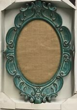 Wall Decor - Antique Style, 1-Piece/ Blue And Light Brown - Free Shipping