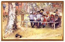 Carl Larsson pintor suecia desayuno grandes abedul LW s3
