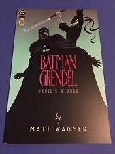 Batman Grendel Devil's Riddle #1 (DC/Dark Horse June 1993) Matt Wagner