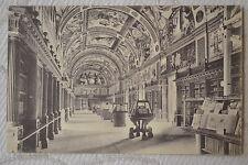 """CPA """" EL ESCORIAL - Monastério Biblioteca"""