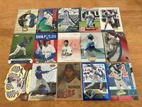 P) Lot of 170 SHANNON STEWART Baseball Cards TOPPS DONRUSS SCORE FLEER BLUE JAYS