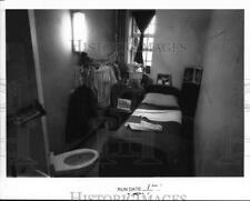 1987 Press Photo Jail cell at Coxsackie Correctional Facility, New York