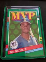 1990 Leaf Donruss MVP #392 Ken Griffey Jr Seattle Mariners Rookie HOF Rare Card!