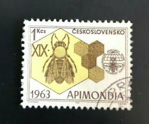 Czechoslovakia 1963 The 19th International Bee-keepers' (Collectible Stamp)