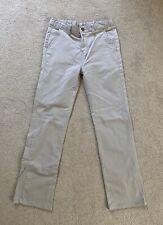 Chaps boys pants Size 16 regular 16 Khaki flat front