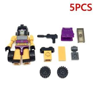 5PCS Kre-o Kreo Transformers  Swindle Micro Changers Mini Action Figure Toy Gift