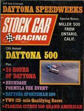 1971 June Stock Car Racing Magazine DAYTONA 500 SPEEDWEEKS