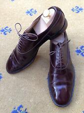 Miu Miu by Prada Men's Shoes Brown Leather Lace Up UK 9.5 US 10.5 EU 43.5
