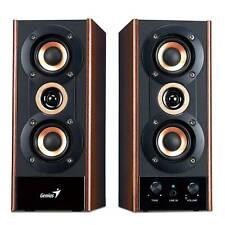 Genius SP-HF800A II 20W 3 Way Powered Hi-Fi Stereo Speakers