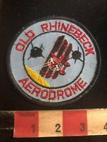Vtg Vers. 2 New York Aircraft Museum OLD RHINEBECK AERODROME Airplane Patch C01W