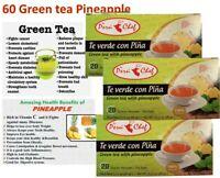 60 Tea Bags Green tea Digestive Fat burner Antioxidant Te Verde Lose Weight