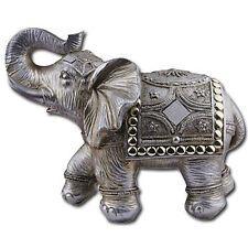 "6.5""Feng Shui  Elephant Trunk Statue Lucky Wealth Figurine Decor"