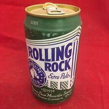 Rolling Rock Empty Beer Can, pop tab, 12 oz - Latrobe
