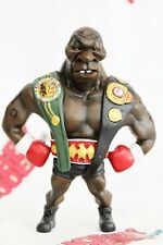IRON MIKE TYSON BOXING 3 CHAMP BELTS FUNNY PAINTED DEFORM SD RESIN MODEL FIGURE