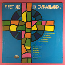 Meet Me in canaanland! - Christian Various Artists-Canaan Records cas-9717-lp