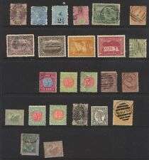 Australia States mint and used lot Ms0429