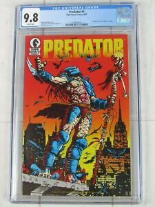 Predator #1 CGC 9.8 WP 1989 Dark Horse Comics 3738100013