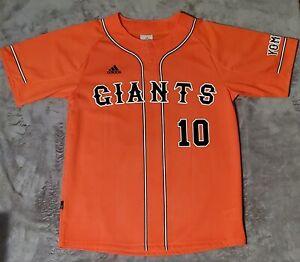 Tokyo Yomiuri Giants Japanese Baseball Jersey #10 Abe Mens Sz Large