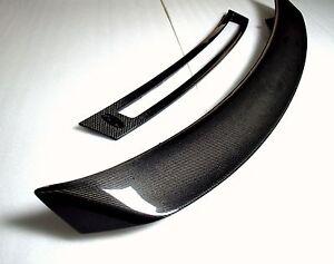 Audi R8 Carbon Fiber GT Rear Wing Spoiler & Carbon Fiber Base. Coupe or Spider