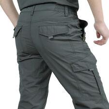 Hombre Militar Fino secado rápido Pantalones Multibolsillos Informal