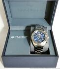 Tag Heuer Formula 1 CAZ101K Blue Dial Chronograph Steel Mens Watch w Box