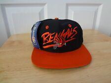 Vintage Cincinnati Bengals SnapBack Hat Cap 80s 90s AJD Signature NEW NWT NFL