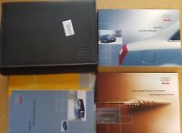 GENUINE AUDI A4 B6  HANDBOOK OWNERS MANUAL WALLET 2000-2004 PACK 15878 !