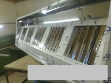 Commercial Kitchen Canopy/Hood 10ft (3MTR extraction kit in Circle Polish Finish