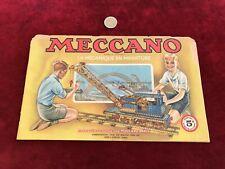 catalogue brochure de jouet N 23 meccano