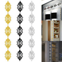 10PC/set adhesive Mirror Tile 3D Wall Sticker Decal Mosaic Room Decor Sale