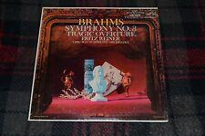 Brahms~Symphony No 3~Tragic Overture~Fritz Reiner Chicago Symphony~FAST SHIPPING