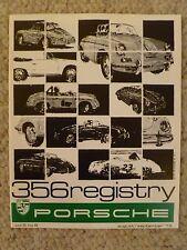 1979 Porsche 356 Registry Magazine, Vol#5 No.6, Aug / Sept 1979 Early RARE! L@@K