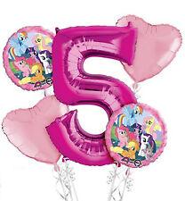 My Little Pony 5th COMPLEANNO PALLONE Bouquet - 5 Stagnola Elio Palloncini