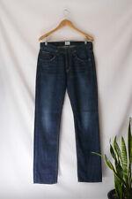 Men's HUDSON Jeans W32 L34 BYRON Straight Leg Medium Dark Blue MAK wash