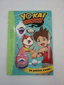 Libro N° 4 Yo - Kai Watch Uno Appetito D' Ogre Libreria Verde Vers. Francaise