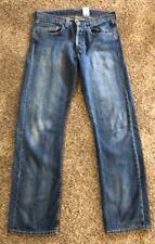 LEVI'S Lowrise Straight Leg Button Down Jeans Size W32 L34